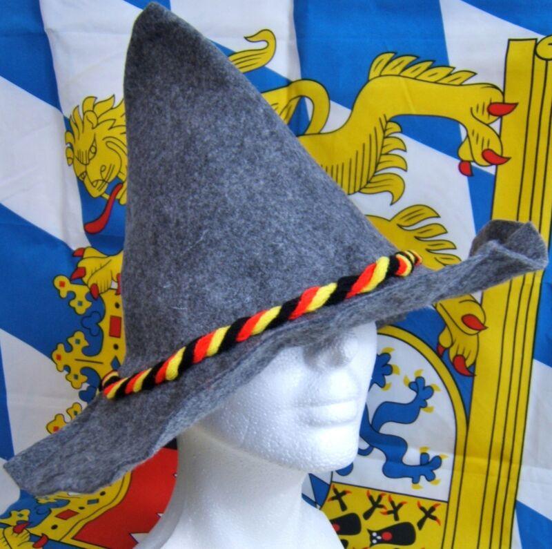 Bavarian German Alm Trachten Seppl Hat Wiesn Lederhosen Dirndl Oktoberfest :-))