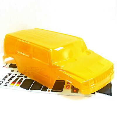 88115 RC 1/10 Scale Monster Truck Body Shell Cover HSP Yellow Cut  ()