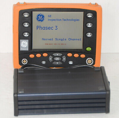 Ge Hocking Phasec 3 Eddy Current Phased Array Flaw Detector