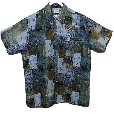 Andrade Honolulu Silk Vintage Hawaiian Shirt M