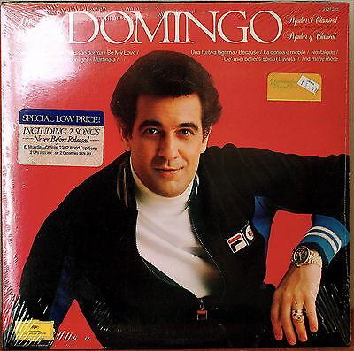 THE BEST OF DOMINGO POPULAR & CLASSICAL-SEALED1983 2LP DG 2 PREV UNRELEASED (Best Deutsche Grammophon Recordings)