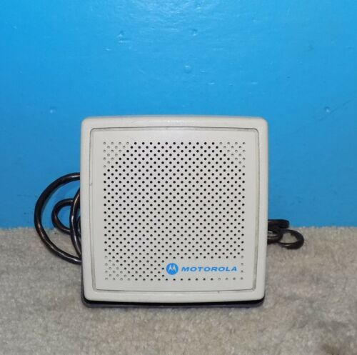 Motorola NSN6027A External Communications Speaker Good Condition Free Shipping