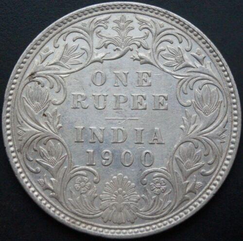 Silver Coin: 1 Rupees 1900-Queen Victoria #Rare Old Coin #100% Original Coin