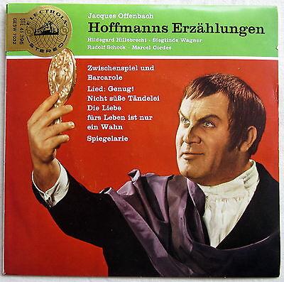 Single (s) - OFFENBACH - Hoffmanns Erzählungen - Rudolf Schock, Sieglinde Wagner