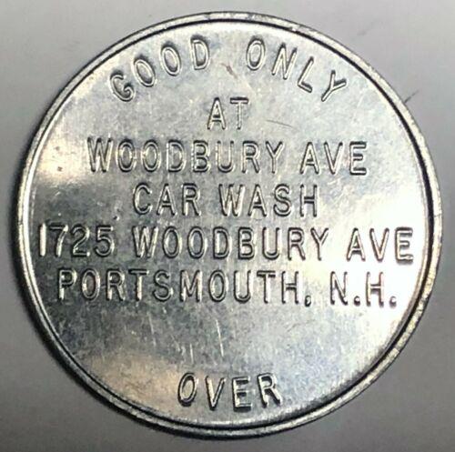 # C8560    PORTSMOUTH,  N.H.  ALUMINUM  TOKEN,  WOODBURY AVE. CAR WASH,