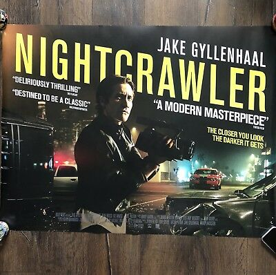 Nightcrawler Original Quad Cinema Poster