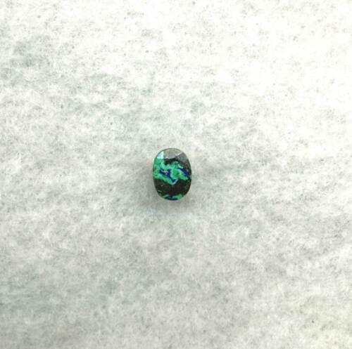 TREASURE HUNT!  8.5x6.3 Oval Natural AZURITE (Chrysocolla w/ Tenorite) – 1.51ctw