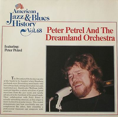American Jazz & Blues History Vol 68: Peter Petrel & Dreamland Orchestra (LP)