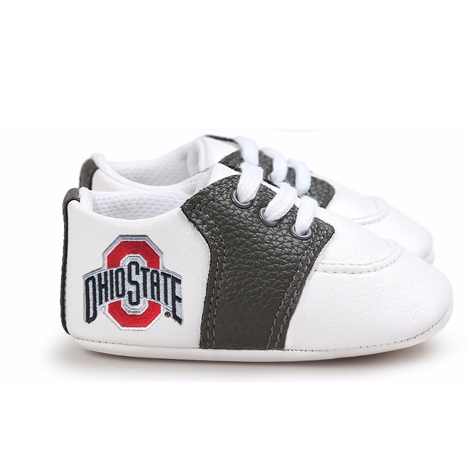 Ohio State Buckeyes Pre-Walker Baby Shoes - Black