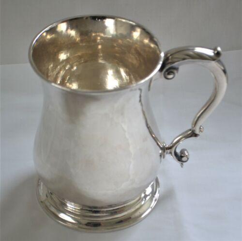 Antique British Sterling Silver Tankard Ca. 1754 Thomas Whipham London