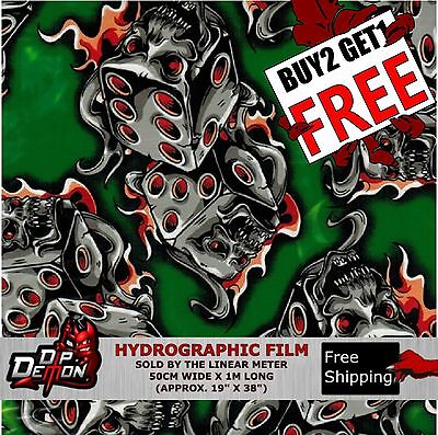 Hydrographic Film Skulls | Owner's Guide to Business and