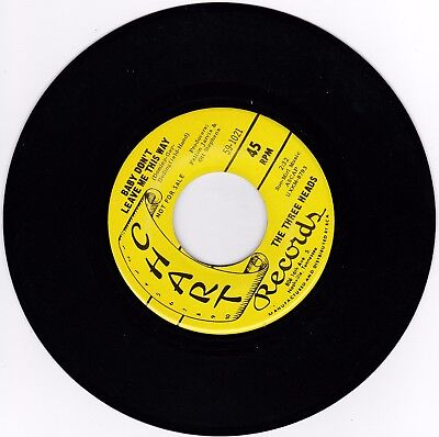 Northern Soul 45RPM - The Three Heads On Tabla Records - Promo Raro ! segunda mano  Embacar hacia Spain