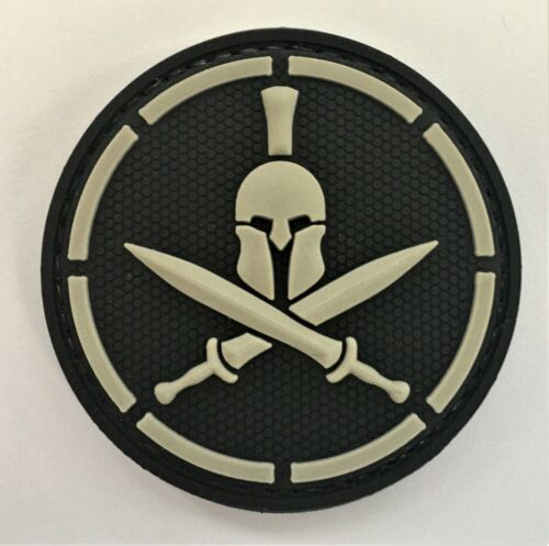 Spartan Molon Labe PVC Patch #2 Hook&Loop (SEAL Special Forces Infantry GB) 369