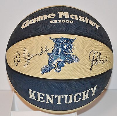 1984 NCAA KENTUCKY WILDCATS TEAM SIGNED AUTO AUTOGRAPH AUTOGRAPHED BASKETBALL UK