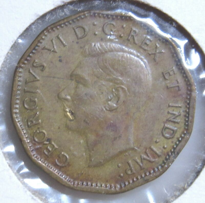 1943 Canada 5 Cent Nickel-High Grade