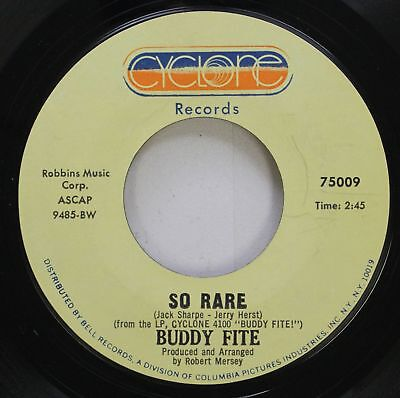 Jazz Nm  45 Buddy Fite   So Rare   They Cant Take That Away From Me On Cyclone