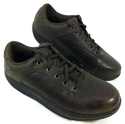 Abeo Rocs Comfort Baylor Oxford Sneaker Shoes Brown leather Sz 11.5 M for sale  San Tan Valley