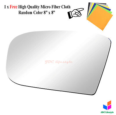 (NEW fit 00-06 Mercedes S-Class/CL500/CL600 Driver Side LH Mirror Glass#4004)