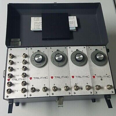 Trilithic Vf-5 Rf Filter. 75 Ohm Bnc Connectors W F-type Adaptors