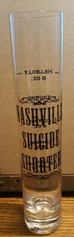 Nashville Souvenir Suicide Shooter Shot Glass