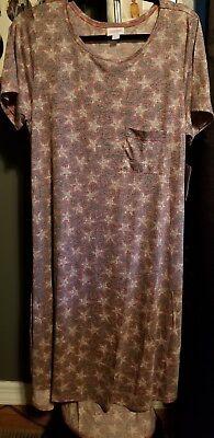 Lularoe America Dreams Carly Dress, XL, NWT ](America Dress)