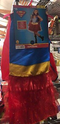 DC Comics Supergirl Child Costume w/ Cape (wp1)