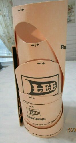"""LEE RapaTemp Pipe Fitting Template Set for 8"""" Pipe, 5 Wrap Around Templates"""