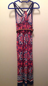 Girls size 7 long dress