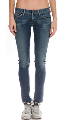 Citizens Of Humanity Skinny (Citizens of Humanity $228 Racer Low-Rise Skinny Jeans in Slash; 26)