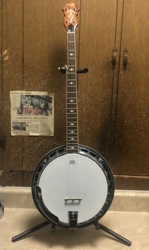Gretsch Guitars Root Series G9400 Broadkaster Deluxe Banjo W/ Hard Case *USED*