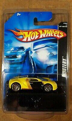 Hot Wheels 2007 Mystery Car Bugatti Veyron Yellow