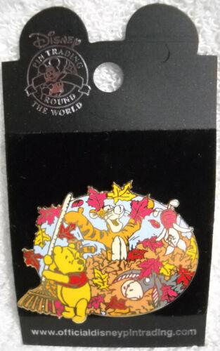 Winnie the Pooh Autumn Disney Pin NEW
