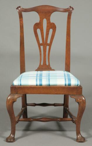 Antique 18th Century c.1760-1775 Boston MA Chippendale Mahogany Chair -Best Form