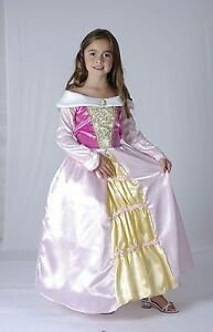GIRLS-FANCY-DRESS-OUTFIT-PRINCESS-SLEEPING-BEAUTY-BNWT-AGE-4-5-6-7-8-9-10-11-12