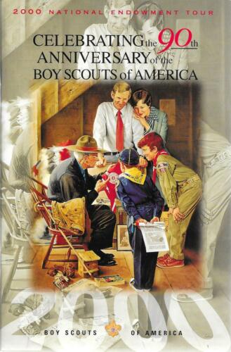 2000 national endowment 90th Anniversary Vintage Boy Scouts of America BSA Book