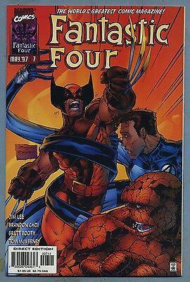 Fantastic Four #7 1997 Heroes Reborn Marvel Comics m