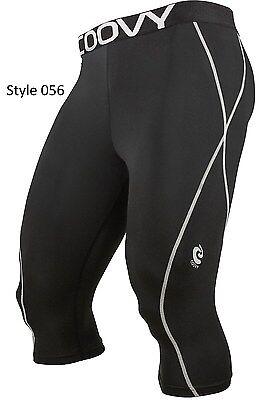 056 Black 3/4 Long Pant