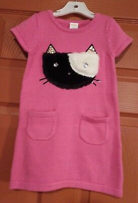 Gymboree girls tails of the city sweater dress size 10 nwt