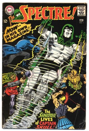 SPECTRE #1 G, Murphy Anderson art, DC Comics 1967