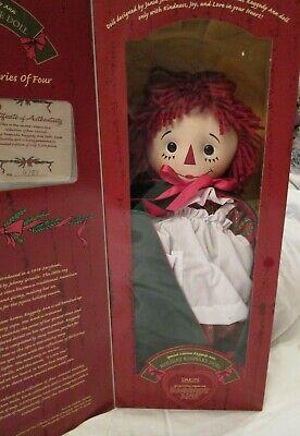 Raggedy Ann Dakin 2000 Holiday Keepsake Doll Christmas Special Edition 2nd of 4  ()