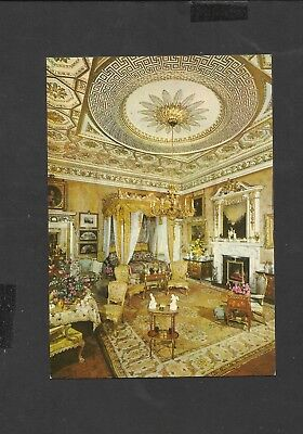 Vintage Woburn Abbey Queen Victoria's State Bedroom unposted 1970
