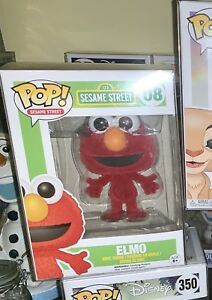 Elmo Flocked Funko Pop