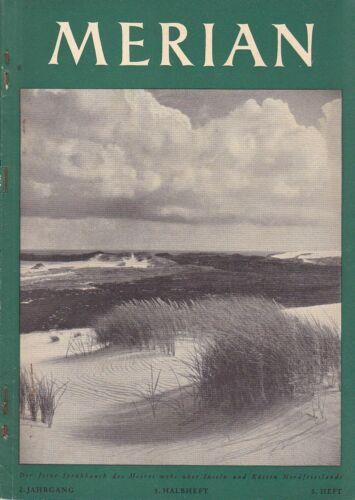 @ Merian-Heft von 1949 - Nordfriesland (2. Jg. - Nr. 5; 1. Halbheft)