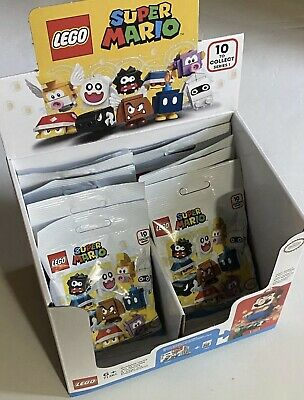 Lego Super Mario 71361 Character Bag 10 Blind Packs with Display Box UNSEARCHED