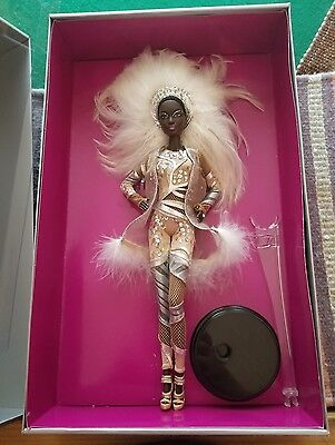 GOLD LABEL 2012 Stephen Burrows Pazette AA Barbie Doll Showgirl