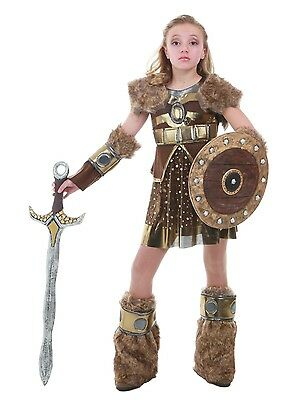 Viking Girl Costume How to Train Your Dragon Astrid 5 6 7 8 9 10 12 14 16 Tween
