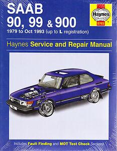 saab 900 repair manual ebay rh ebay com 1990 Saab 900 Turbo 1983 Saab 900 Turbo