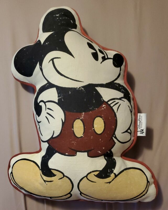 New Authentic Disney Parks Mickey Mouse Pillow