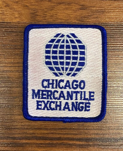 Vintage CME Group Chicago Mercantile Exchange Jacket Patch Sew-On