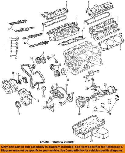 Nissan OEM-Motor Correa Dentada 1302845P86   eBayeBay